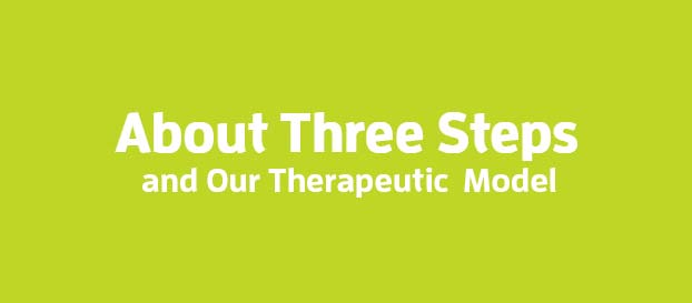 Three Steps - About Three Steps and Our Therapeutic Model